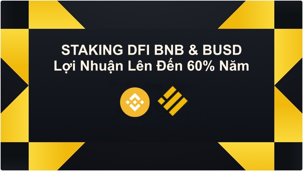 Binance Staking DeFi BNB va BUSD